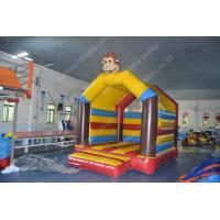 Wholesale Attractive 0.55mm PVC / Oxford Inflatable Bounce House , inflatable fun world from china suppliers