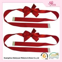 Wholesale Custom Red Gift Wrap Bows for christmas presents With Self adhesive Tape from china suppliers