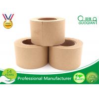 Wholesale White / Brown Single Sided Gummed Kraft Paper Tape With 4.8cm Width from china suppliers