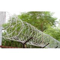Wholesale 450mm - 1050mm Fence Security Wire Razor Barbed Tape Anti Aging Ultra Durable from china suppliers