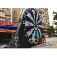 Wholesale Inflatable Interactive Games 5.5X4.5M Inflatable Football Darts Inflatable Soccer Dart Board from china suppliers
