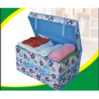 Wholesale 100g Waterproof Non-woven Fabric Decorative Storage Boxes Laundry Bin with Handle from china suppliers