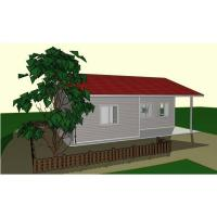 Wholesale Economic Light Gauge Steel Two Bedroom Modular Homes Prefab House For Hotel / Shop from china suppliers