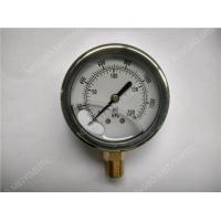 Wholesale Liquid Pressure Gauge 2.5 inches in diameter with304SS material from china suppliers