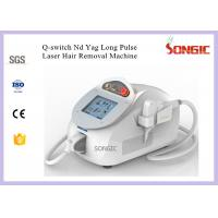 Wholesale Long Pulse ND Yag Ipl Laser Hair Removal Machine 1064nm & 532nm Wavelength from china suppliers