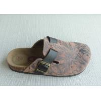 Wholesale Womens Sole Cork Slippers , 36-41 Size Summer Fashion Comfortable from china suppliers