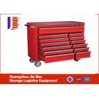 Wholesale Powder coating Industrial Storage Cabinets 4-wheel with 2 shelves from china suppliers