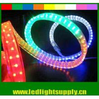Wholesale PVC led flat rope 4 wires waterproof xmas home decoration led rope light from china suppliers