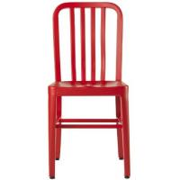 Lex Mod Red Dining Metal Navy Chair Replica Emeco 111