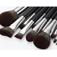Quality OEM Professional Makeup Brush Set With Three Color Hair And Copper Handle for sale