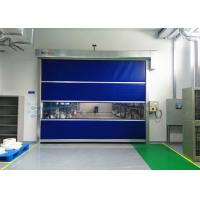 Buy cheap External High Speed Industrial Shutter Door Colorful PVC Curtain For Workshop from wholesalers