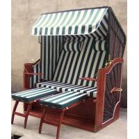 Wholesale Luxury Modern Brown Roofed Wicker Beach Chair & Strandkorb For Outdoor from china suppliers