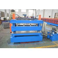 Wholesale Quenching Treated Durable Steel Double Layer Roll Forming Machine PLC Control System from china suppliers