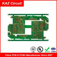 Wholesale 4-10 layers FR4 HDI Printed Circuit Boards Blind holes Burried holes impedance control BGA from china suppliers