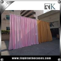 Wholesale innovative backdrop pipe and drape curtain stand wedding backdrop from china suppliers