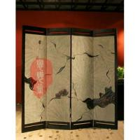 Buy cheap Hand-painted Floor Screen from wholesalers