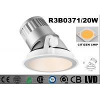 Wholesale Round 20 Watt LED Wall Washer Lights 2700K Dimmable Recessed LED Downlights from china suppliers