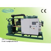 Wholesale Food Low Temperature Chiller , Cold Room Storage Water Cooled Condensing Unit from china suppliers