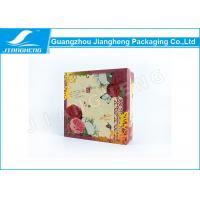 Quality Coated Paper Essential Oil Packaging Boxes Rigid Cardboard Printing Flower Gift Box for sale