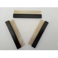 Buy cheap 64Poles PC104 Socket Strip Equivalent Samtec Connector 2.54mm H=8.3 Straight Type from wholesalers