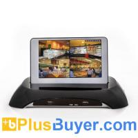 Wholesale 4 Channel DVR Surveillance System With 7 Inch Detachable LCD (H.264, D1) from china suppliers