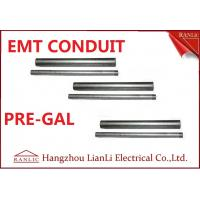 "Wholesale Professional 1/2"" 3/4"" EMT Electrical Conduit with 1.07mm-1.65mm Thickness from china suppliers"
