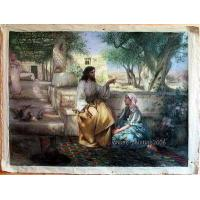 Wholesale 100%HANDMADE ART SALE Oil Painting Repro Jesu from china suppliers