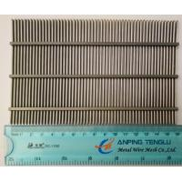Wholesale AISI304 & AISI316 Wedge Wire Screen Flat Panels, 0.05-10mm Slot Width from china suppliers