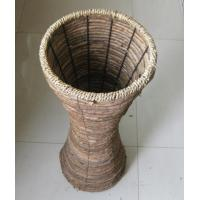 Wholesale China Made High Quality Natural rattan Flower Stand/Flower Shelf from china suppliers