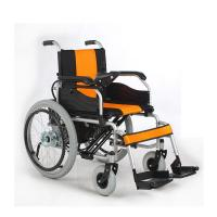 Wholesale 22 Inch Handicapped Electric Wheelchair Foldable Lightweight With Handrim from china suppliers