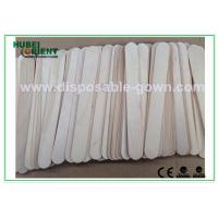 Wholesale Surgical / Medical Hospital Disposable Products Wooden Tongue Depressor , 15*1.8cm from china suppliers
