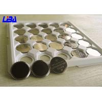 Wholesale Motherboards Primary Li - MnO2 Button Cell Battery , Different Solder Tabs 3 Volt Battery from china suppliers