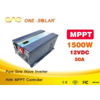 Wholesale Blue 1500 Watt Solar Powered Inverter With AVR Stabilizer 3 Years Warranty from china suppliers
