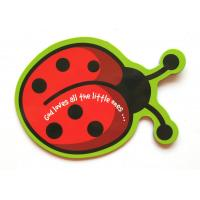 Buy cheap Ladybird Cute Personalized Fridge Magnet For Children , Rubber Refrigerator Magnets from wholesalers