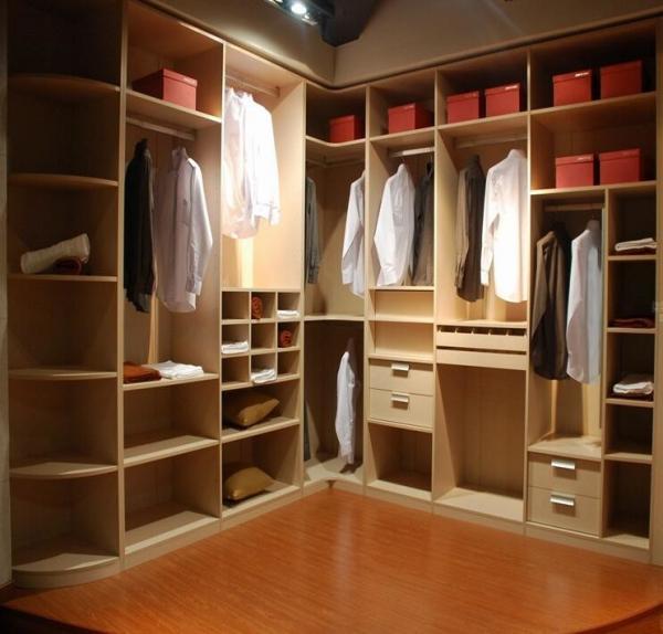 L Shaped Wardrobes: Oversized Cloakroom Custom Bedroom Wardrobes , Modern L