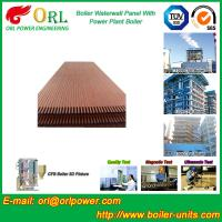 Wholesale Condensing Gas Boiler Water Walls For Petrochemical Biomass Diesel Boiler Industry from china suppliers