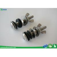 Wholesale Solid Inox / Stainless Steel Toilet Bolts To Connect Toilet Tank And Bowl from china suppliers