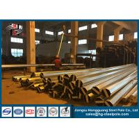 Wholesale 500KG Loads Galvanized Octagonal Steel Utility Electrical Power Pole For Dakar from china suppliers