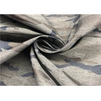 China Breathable Jacquard Polyester Spandex Fabric 138 GSM Weight 57 / 58 '' Width for sale