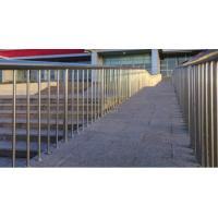 Wholesale Satin Polished Stainless Steel Handrails 304 SS Outdoor Glass Railing from china suppliers