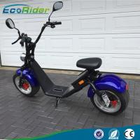 Quality EEC Approved 2 Wheel Electric Scooter , Two Wheel 1200W Motor Harley Electric Bike for sale