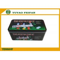 Wholesale HIPS / Plastic Custom Poker Chips Sets Texas Hold ' Em Poker from china suppliers