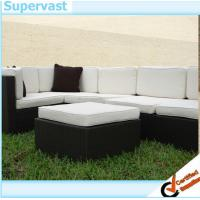 Wholesale Modern Luxury Outdoor Furniture Sectional Sofa , Leisure Furniture Sofa Set from china suppliers