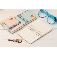 Wholesale A5 size hard cover spiral notebook with elastic band from china suppliers