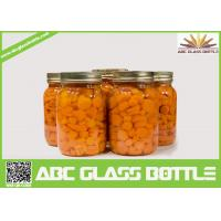 Wholesale Wholesale glass mason canning jar with screw lid from china suppliers