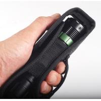 Wholesale Nylon Flashlight Pouches / LED Flashlight Holster With Button from china suppliers