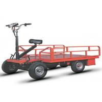 Wholesale Open Type Electric Platform Truck Four Wheel With Driver Seat from china suppliers