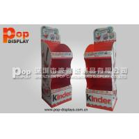 Wholesale High Bearing Capability Corrugated Plastic Display For Showing Candy In Grocery Store from china suppliers