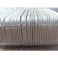 Quality hot dipped galvanized pipe welded 2*1m size crowd control barrier for sale
