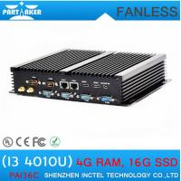 Quality Mini PC for home fanless mini itx HD htpc with haswell Intel Core i3 4010U 1.7Ghz for sale